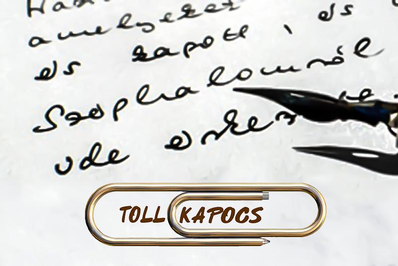 Tollkapocs levelezőprogram a kézzel írásért, értünk, magyarokért