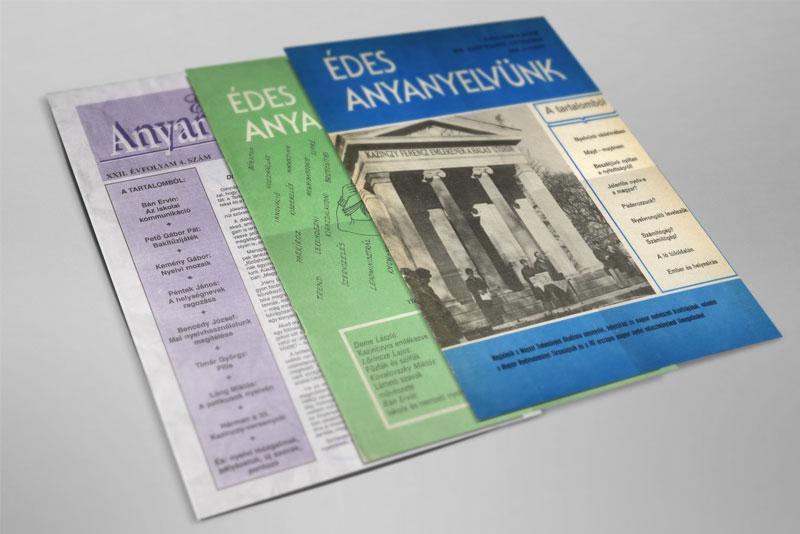 38 éve az anyanyelvért – hozzáférhető az Édes Anyanyelvünk folyóirat összes száma