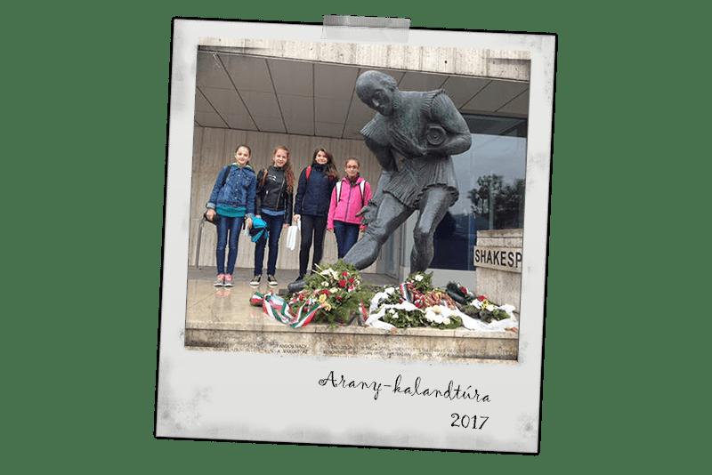 Közel 100 diák járt Arany János lábnyomán a magyar nyelv hetén