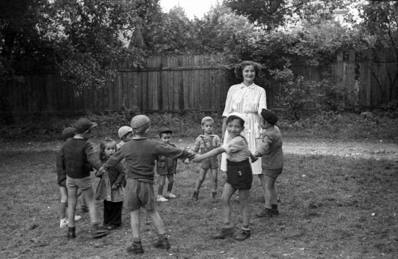 fortepan népi gyermekjátékok