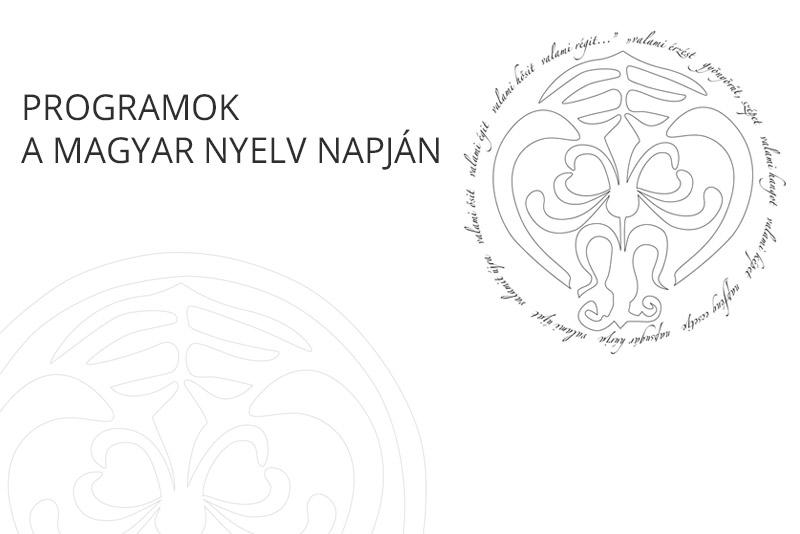 Programok a magyar nyelv napján