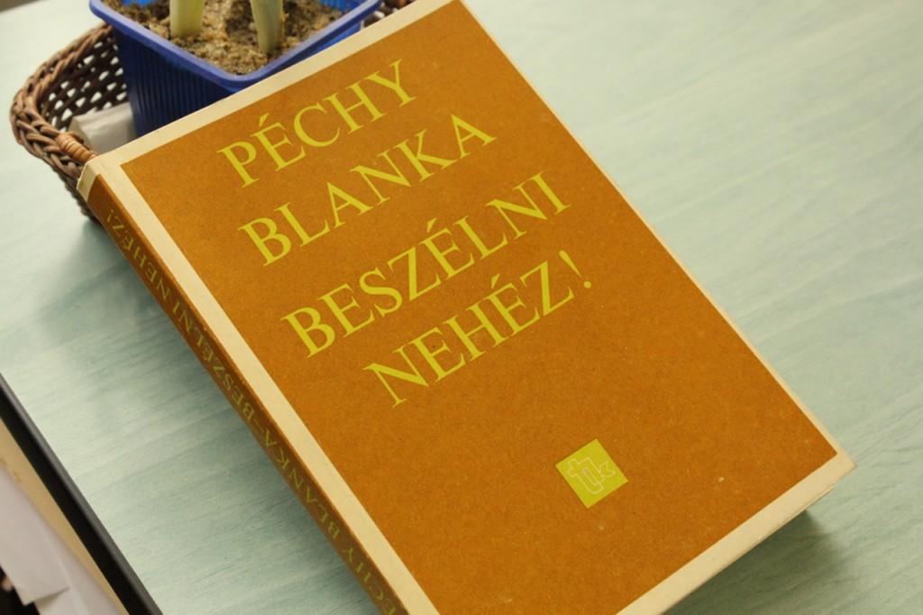 Péchy Blanka-emléknap a Gundelben