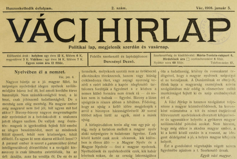 vaci-hirlap-1908-nyelveben-el-a-nemzet
